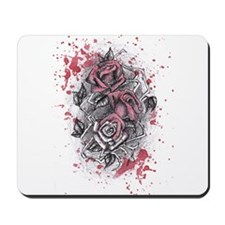 Painted Roses Mousepad