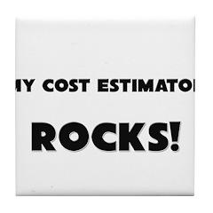 MY Cost Estimator ROCKS! Tile Coaster