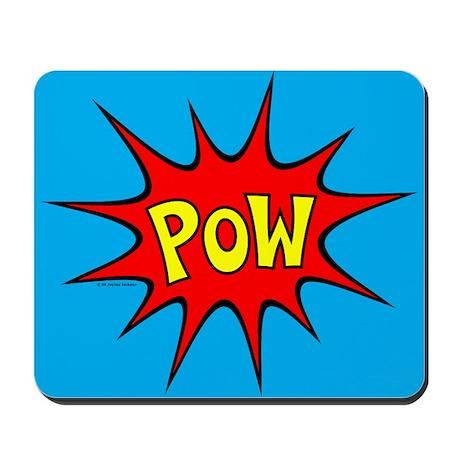 POW! Mousepad