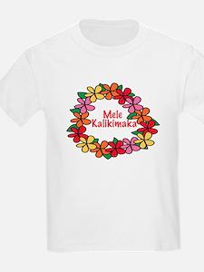 Hawaiian Christmas Lei T-Shirt