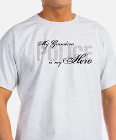 My Grandson is My Hero - POLICE T-Shirt