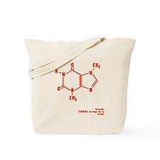 Chocolate Molecule Tote Bag