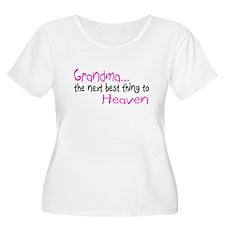 Grandma, The Next Best Thing To Heaven T-Shirt