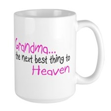 Grandma, The Next Best Thing To Heaven Mug
