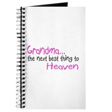 Grandma, The Next Best Thing To Heaven Journal