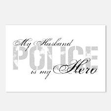 My Husband is My Hero - POLICE Postcards (Package