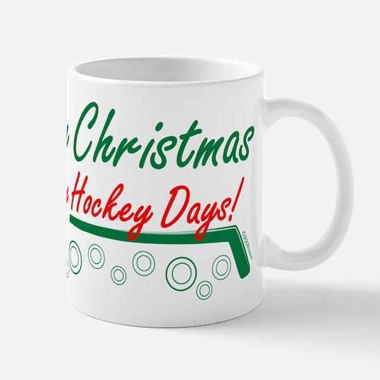 Christmas hockey days Mug