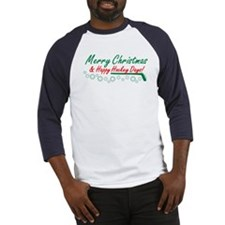 Christmas hockey days Baseball Jersey