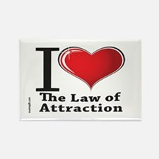 Love the Law of Attraction Rectangle Magnet