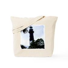 Hunting Island Lighthouse Tote Bag