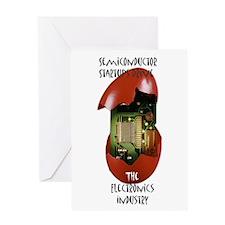 Cute Semiconductor Greeting Card