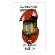 Unique Semiconductor Postcards (Package of 8)