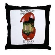Cute Semiconductor Throw Pillow
