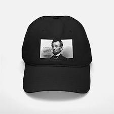 President Abraham Lincoln Baseball Hat