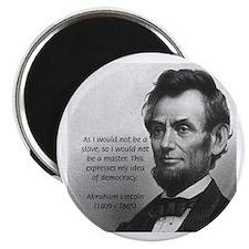 President Abraham Lincoln Magnet