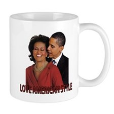 Obama's Love American Style Small Mug