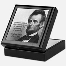 President Abraham Lincoln Keepsake Box