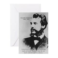 Alexander Graham Bell Greeting Cards (Pk of 10