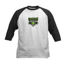 Fastpitch Home Plate Green Tee