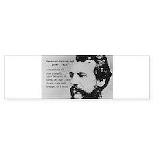 Alexander Graham Bell Bumper Bumper Sticker