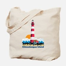 Chincoteague Island VA Tote Bag
