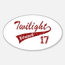 BASEBALL TEAM EDWARD Oval Decal