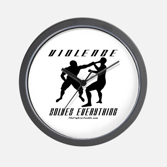 Violence Solves Everything w/ Wall Clock