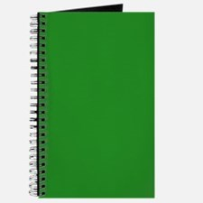 Forest Green Color Journal/Notebook