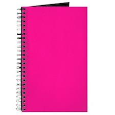 Deep Pink Color Journal/Notebook