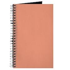 Dark Salmon Color Journal/Notebook