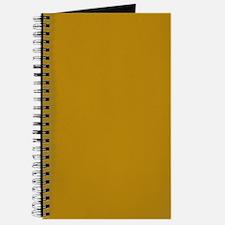 Dark Goldenrod Color Journal/Notebook
