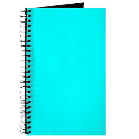 Cyan Color Journal/Notebook