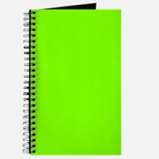 Chartreuse Color Journal/Notebook