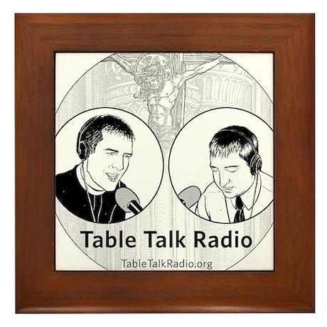 Table Talk Radio Framed Tile