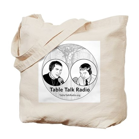 Table Talk Radio Tote Bag