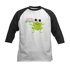 "Cute Frog & ""Think Green"" Tee"