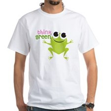 "Cute Frog & ""Think Green"" Shirt"