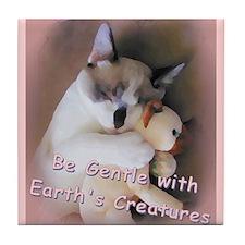 Be Gentle... Tile Coaster