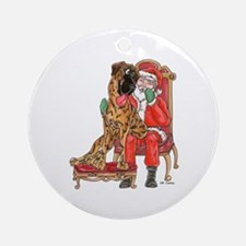NBr I Been Good Ornament (Round)