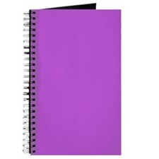Medium Orchid Color Journal/Notebook