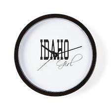 Idaho Girl Wall Clock