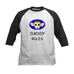 DADDY RULES Kids Baseball Jersey