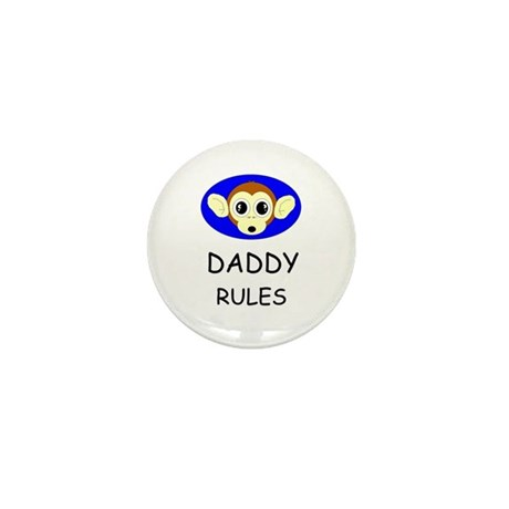 DADDY RULES Mini Button (100 pack)