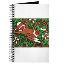 Ivy Sock Monkey Journal