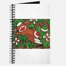 Ivy Sock Monkey Journal