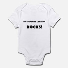 MY Corporate Librarian ROCKS! Infant Bodysuit