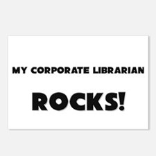 MY Corporate Librarian ROCKS! Postcards (Package o