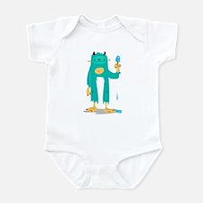 Ice Block Yeti Infant Bodysuit