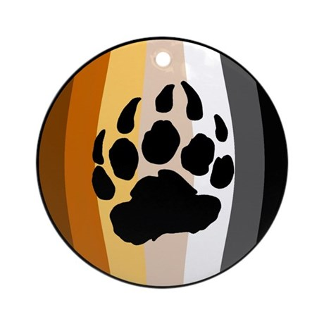 Bear Ball Ornament (Round)