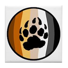 Bear Ball Tile Coaster